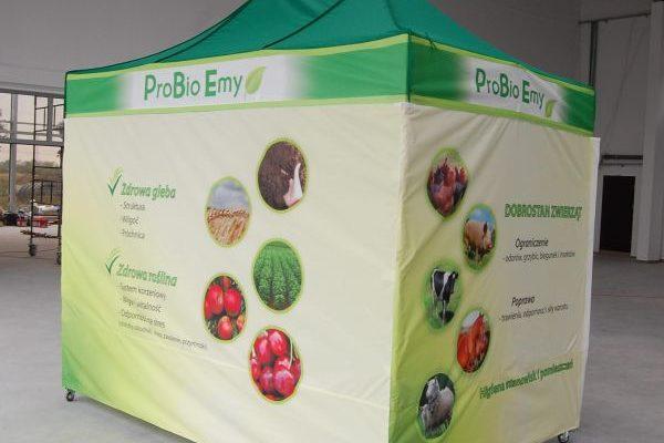 Namiot wystawowy - szybki montaż - lekka aluminiowa konstrukcja