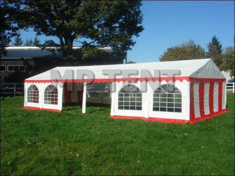 Namiot wystawowy z nadrukiem - reklama dźwignią handlu